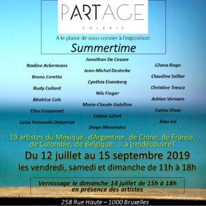 Expo d'été partage Galerie