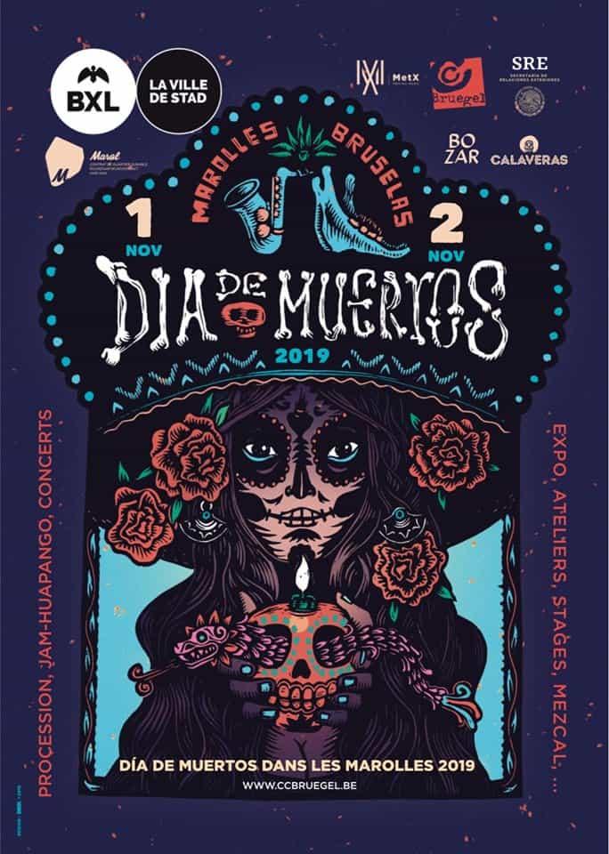 Día de Muertos dans Les Marolles 2019